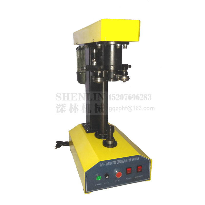 Beverage cans capping machine semi-automatic capper tools equipment for container packaging table style capper