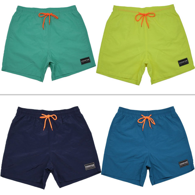 2018 Brand new mens solid Boardshorts Quick Drying Beachshorts Bottoms Casual shorts small boxer shorts for men