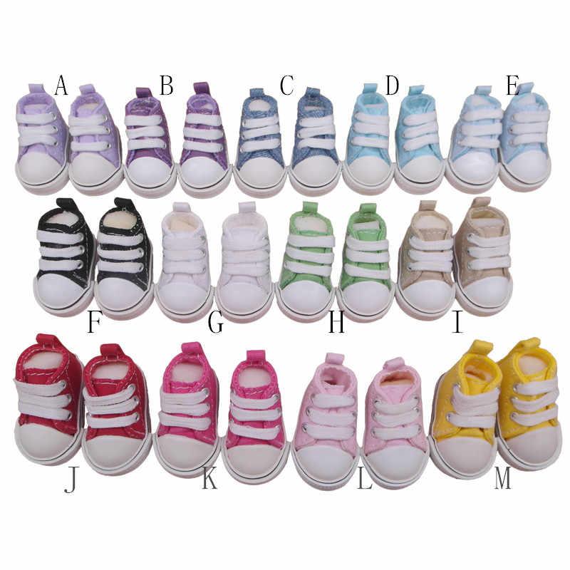 Tilda 5cm 1/6 캔버스 인형 운동화 kpop exo 20cm 면화 인형 장난감, 러시아 인형 용 미니 인형 체육관 신발 rag dolls