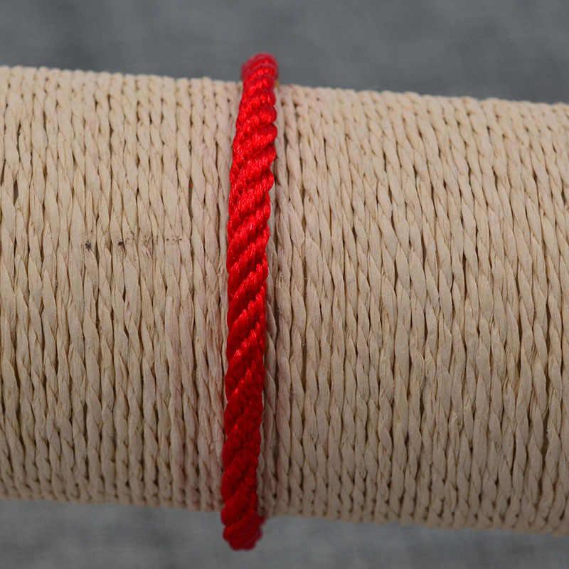 CUTEECO 2019 ファッションブレスレット赤糸ロープ織ブレスレット自由奔放に生きるハムサファティマの手の悪目ブルーストーンジュエリー