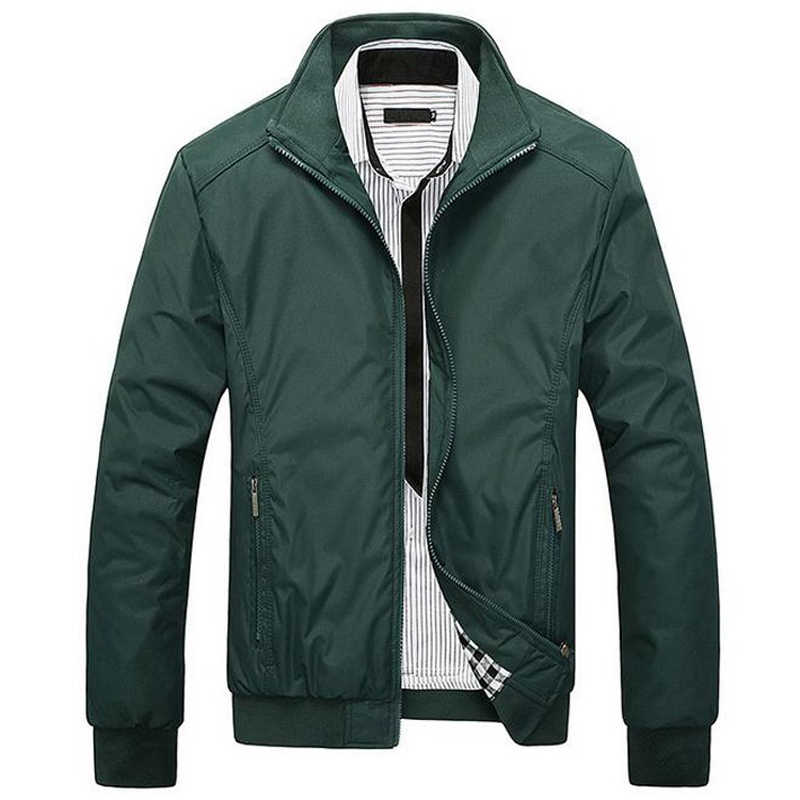 TANGNEST 男性のジャケットプラスサイズ 5XL 2019 メンズ新高品質春レギュラースリムジャケットコート卸売 MWJ682