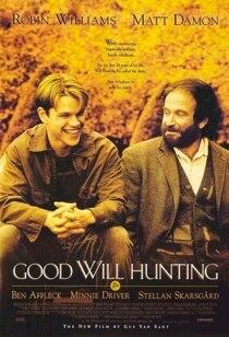 Good Will Hunting Movie Film Vintage Retro Poster