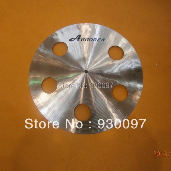100% handmade hole cymbal,professional B20 Dragon 16
