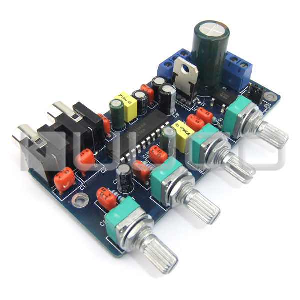 Image 2 - Low Pass Filter Audio Amplifiers Tone Board Power Controller Subwoofer Circuit Design Board Audio Control Module-in Furniture Accessories from Furniture