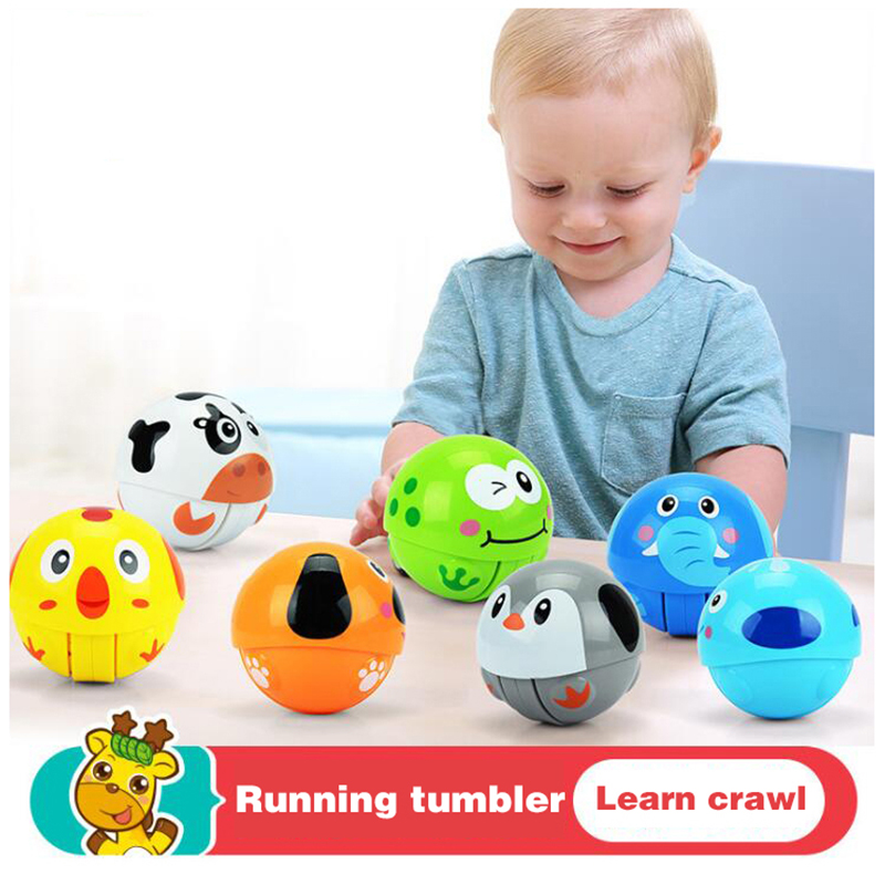 Toys For 0 2 Years : Rattles ball develop baby intelligence animal cartoon