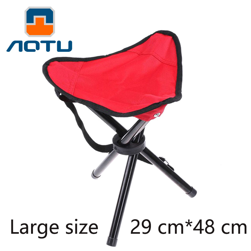 Sports & Entertainment Light Weight Chair Aluminum Mazar Fishing Folding Portable Small Horse Triangle Chairs Outdoor Three-legged Stool Fishing