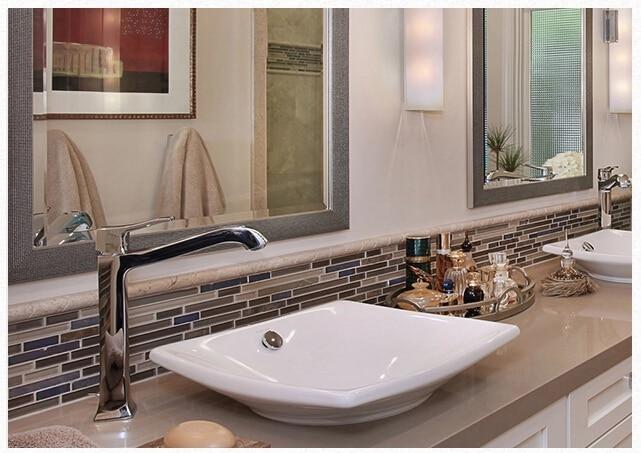 bagno con mosaico rosa bagno mattonelle mosaico piastrelle esempi