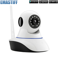 Free Shipping 720P WiFi IP Camera Home Office Burglar Alarm System Motion Sensors Kit