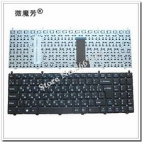 Russian RU Keyboard For DNS Clevo W650EH W650SRH W6500 MP 12N76SU 4301 6 80 W6500 281