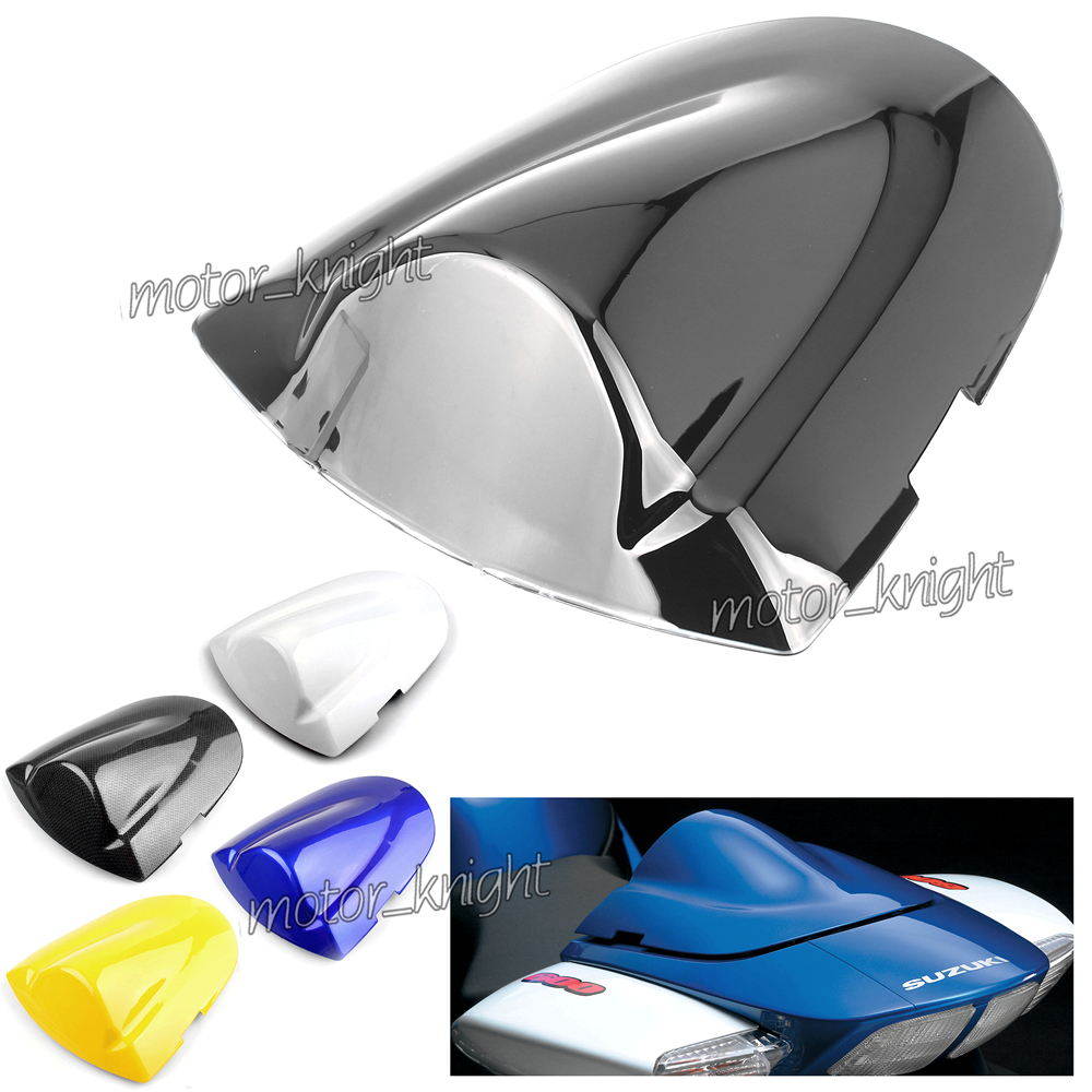 Motorcycle Pillion Rear Seat Cover Cowl Solo Seat Cowl <font><b>Fairing</b></font> For Suzuki <font><b>GSXR</b></font> <font><b>600</b></font> 750 K6 2006 <font><b>2007</b></font> GSXR600 GSXR750 R 600R 750R image