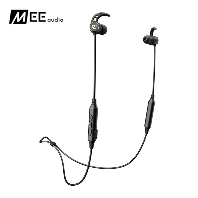 MEE audio X5 Bluetooth V4.2 Sports Headphones Best Wireless fone de ouvido Stereo Bass In-Ear Headset Magnet Earphones With Mic