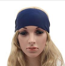 Las Mujeres calientes de Bohemia correr deportes de impresión pelo de la cinta diadema Turbante venda del pelo mujeres accesorios para el cabello