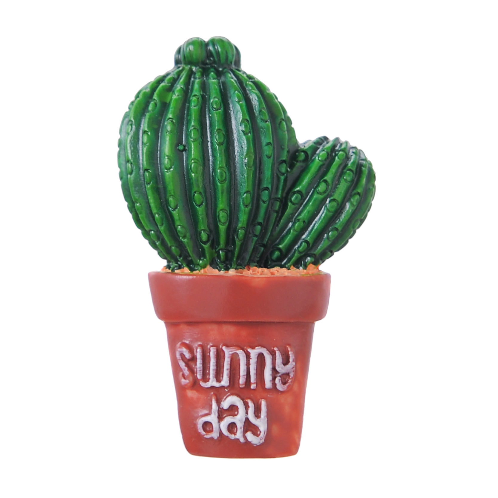 7pcs Set Succulent Cactus Fridge Magnet Plant Creative Resin