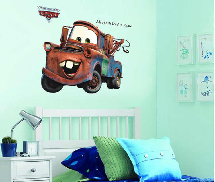 3d Broken Mater Truck Car For Boys Bedroom Self Adhesive Kids Room Wallpaper Cartoom Car Poster Mural Wall Stickers Wall Stickers Aliexpress