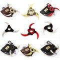 Naruto Kunai Shuriken cosplay Arma de brinquedo 2016 Novo Naruto Hokage cosplay Shuriken arma Girar Dobrável crianças