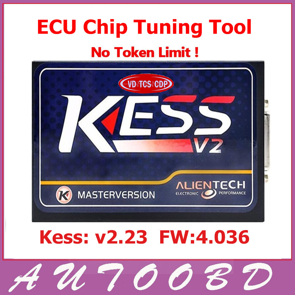 DHL Free!! FW V4.036 KESS V2 V2.23 OBD2 Manager Tuning Kit Master Version No Tokens Limited ECU Chip Tuning Tool ECM_Titanium SW цена