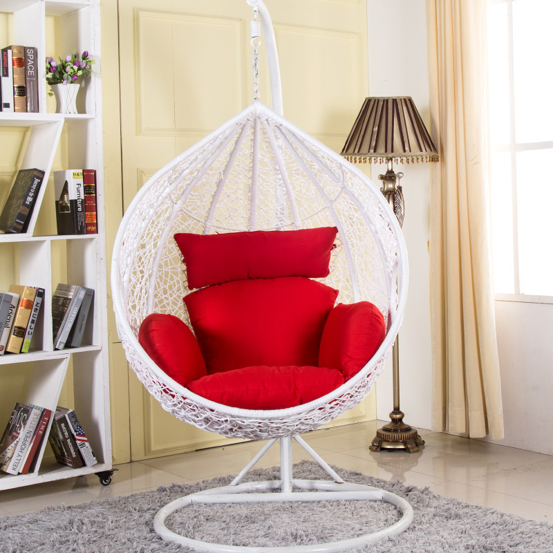 Cheap Wicker Chair: Cheap Rattan Basket Hanging Chairs Rocking Chair Indoor