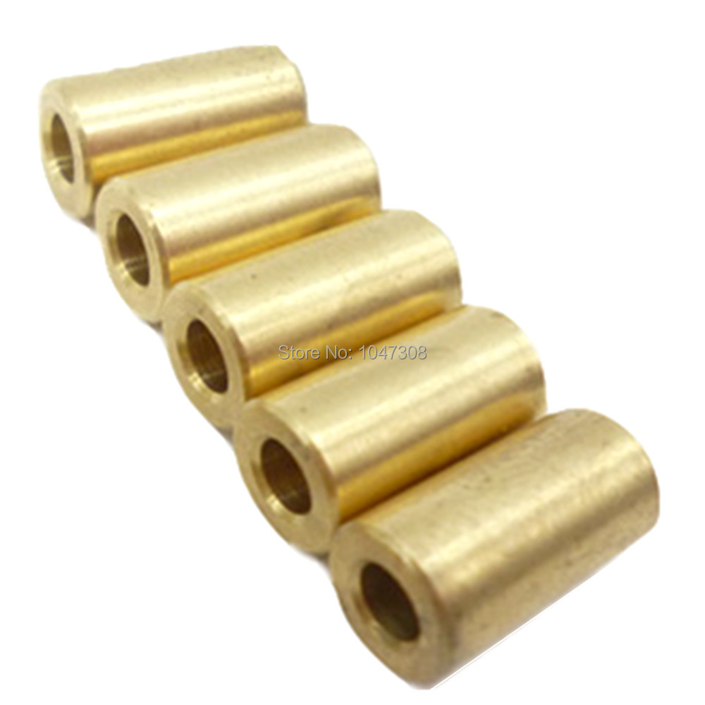5pc Mini Small Drill Clamp Fixture Chuck Brass Electric Motor Shaft Rod 3.17mm
