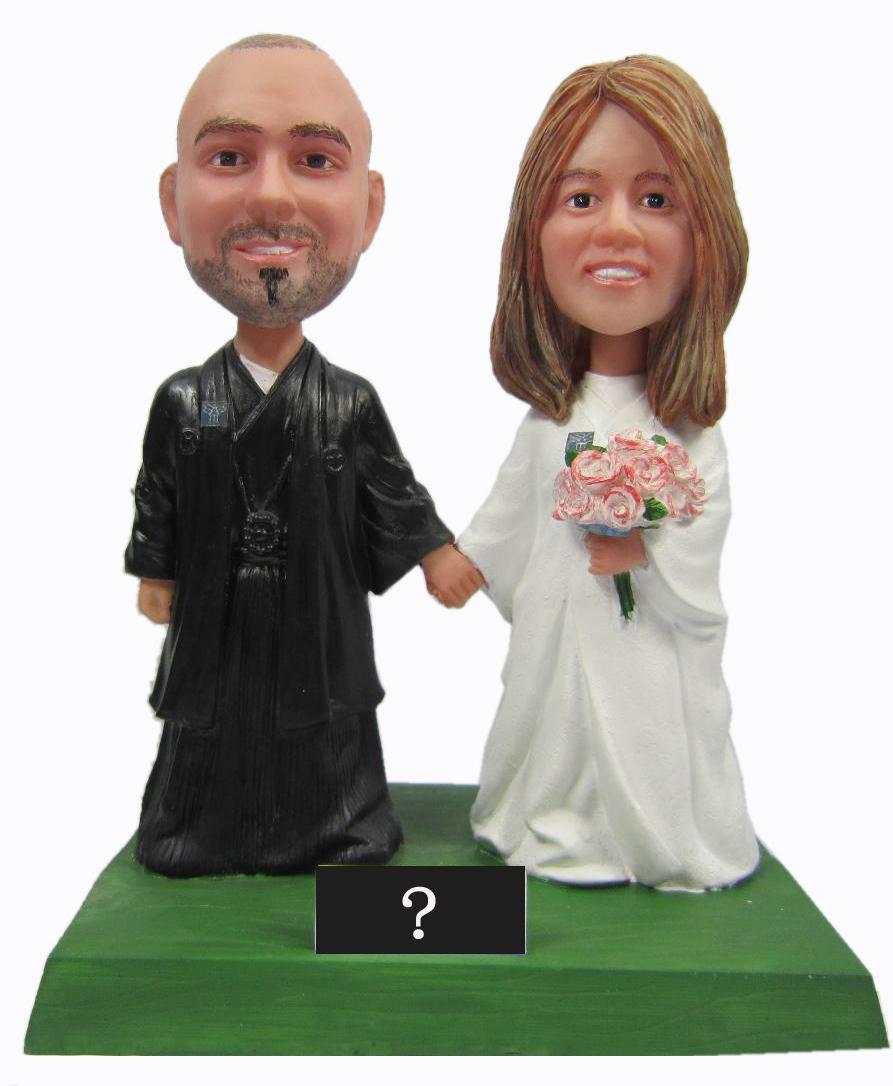 ᗚFedex free shipping Personalized bobblehead doll wedding gift ...