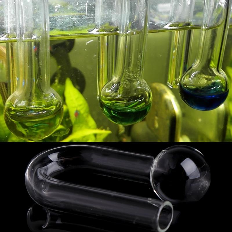 Aquarium Fish Tank Hang On CO2 Monitor Grass Cylinder Detector Checker Teste #0709# Drop Shipping