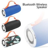 Wireless Bluetooth Speaker Column Stereo Subwoofer Loudspeaker Waterproof Portable Speaker+TF Built in Mic Bass FM MP3 Sound Box