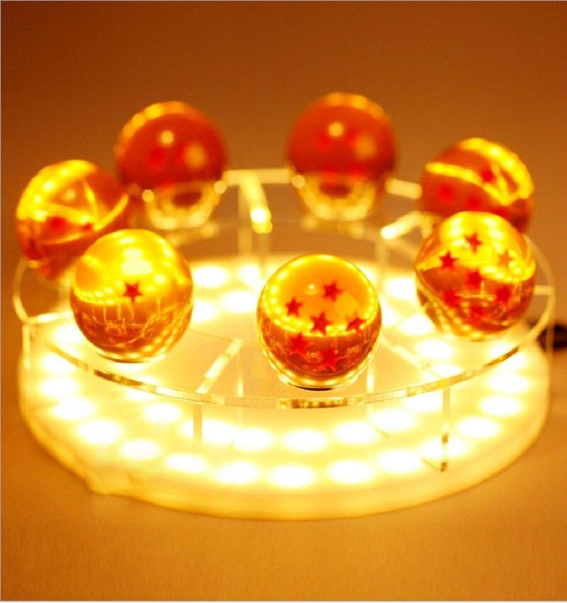 Dragon Ball Z Son Goku LED Table Lamp Spirit Bomb Night Light Luminaria Room Decorative lighting Holiday gifts 3 Choice Lights