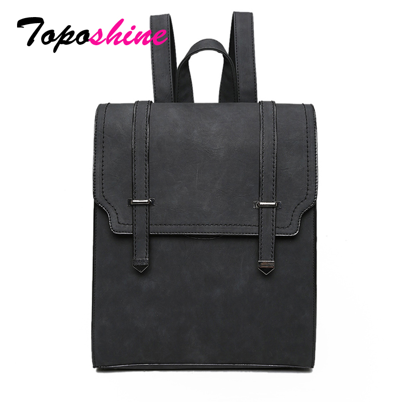 Toposhine Hot New Bag Designed Brand Cool Urban Backpack Double Arrows Women Backpack Quality Fashion Girls School Bag