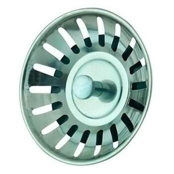 1 Pcs Kitchen Sinks Stoppers Stainless Steel Sink Lid Dishpan Drainer Chock Plug Filter Basket spülbecken sieb