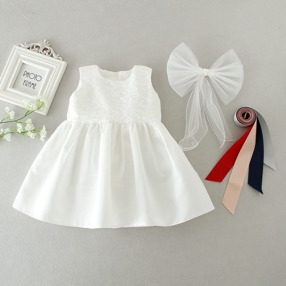 Aliexpress.com : Buy Baby White Baby Girl Dress for Baptism ...