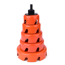 цена на 64mm~127mm Carbon Steel Hole Opener for Drilling Machine Plasterboard Woodworking Sheet Carton Wood Working Hole Saw Drill Bit