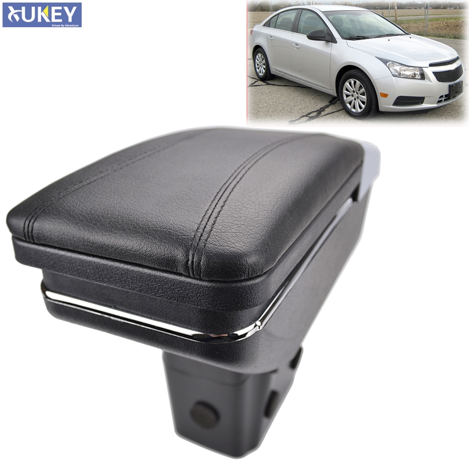 For Chevrolet Cruze / Holden Cruze 2009 2015 Center Centre Console Storage Box Armrest Arm Rest Rotatable 2010   2013 2014 2015-in Armrests from Automobiles & Motorcycles