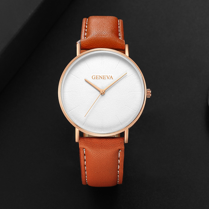 купить Men Watches Business Luxury Watch Fashion Classic Gold Quartz Leather Band Wrist Watch Top Watches Men Clock relogio masculino по цене 305.31 рублей