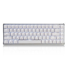 New Ajazz Zinic 68 Keys Mechanical Keyboard All Metal Body Switches Black / Blue / Brown / Red Axis Dual-mode Backlight wireless(China)