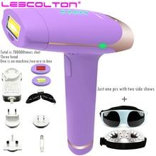 Lescolton depiladora laser 700000 kali pulsa 2in1 IPL Laser Epilator Hair removal Permanen Bikini depilador laser