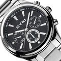 Eyki los hombres de primeras marcas de relojes de lujo de acero inoxidable reloj de los hombres de moda casual de negocios analógico de cuarzo reloj relogio masculino