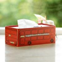 Zakka complex Gudunbashi creative home tissue box pumping tray British style tin box wholesale