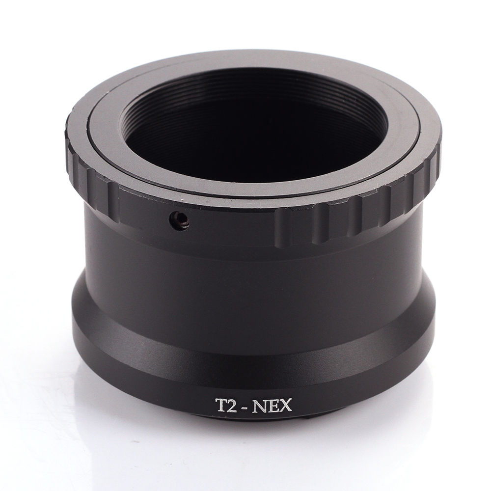 T2 T Lens to Sony E-mount Adapter Ring NEX-7 3N 5N A7 A7R II A6300 A6000 T2-NEXT2 T Lens to Sony E-mount Adapter Ring NEX-7 3N 5N A7 A7R II A6300 A6000 T2-NEX