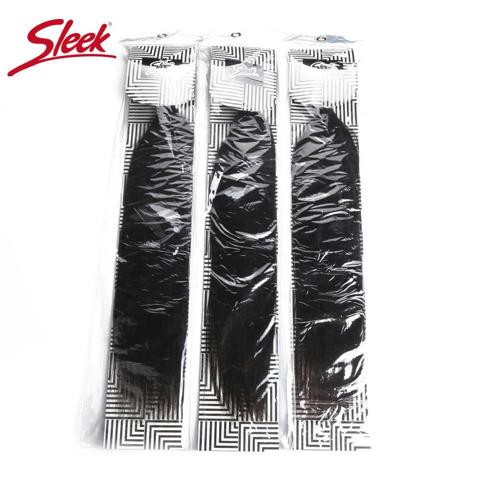 Sleek Haar Peruanische Gerade Haar Weben 3 Bundles 8 Zu 30 Zoll Verlängerung 100% Natürliche Remy Menschenhaar Kann Kaufen 3 oder 4 Bundles