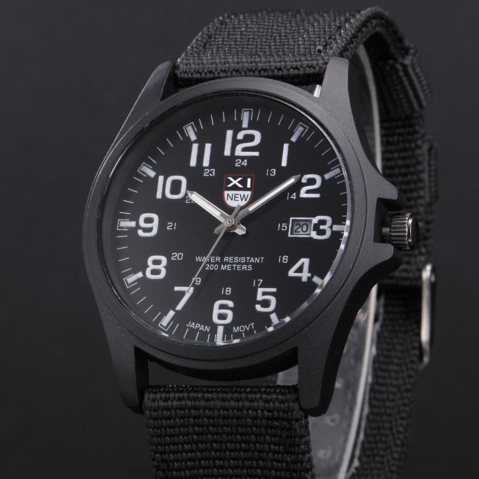 Marke Uhren Mens Fashion Datum Stunden relogio masculino barato Erkek Saat montre homme luxus reloj hombre XINEW Military Uhr