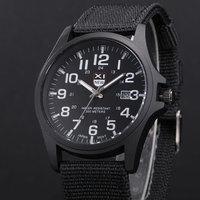 Zegarki męskie moda męska data godziny relogio masculino barato Erkek Saat montre homme luksusowe reloj hombre XINEW zegarek wojskowy
