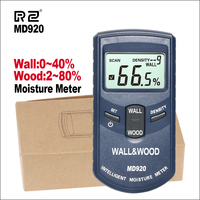 RZ Digital Inductive Wall And Wood Moisture Meter Inductive Hygrometer Digital Humidity Tester Damp Detector Measuring Tools