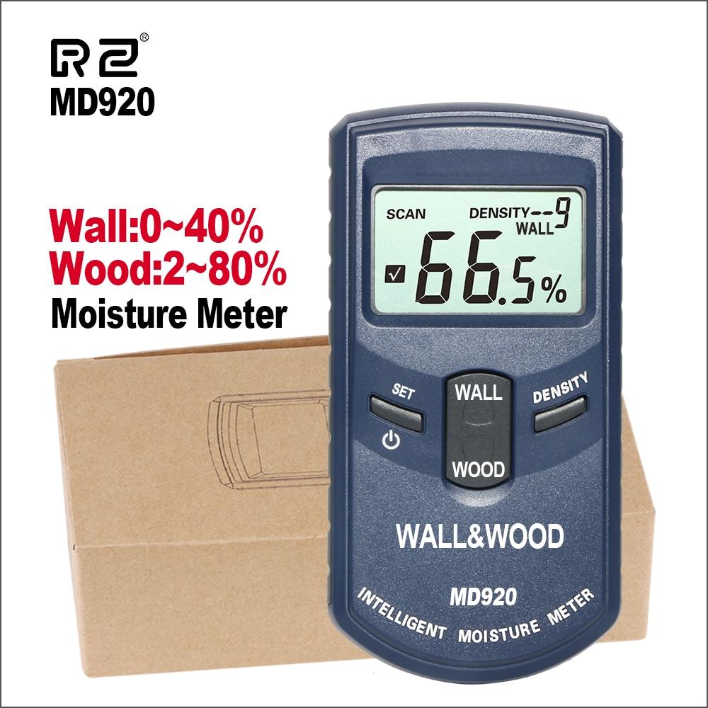 RZ numérique inductif mur et bois humidimètre inductif hygromètre numérique testeur d'humidité détecteur d'humidité outils de mesure