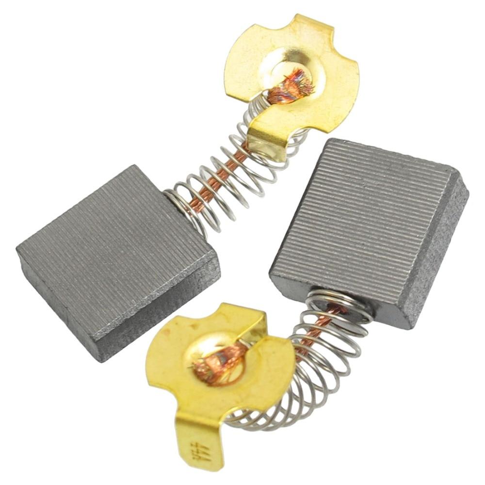 Uxcell alta qualidade 1 par 18x17x7mm motor elétrico escovas de carbono para hitachi 180 ângulo moedor dremel ferramenta rotativa