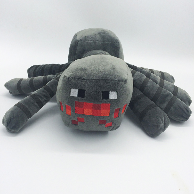 30cm Minecraft Spider Plush Toys Cute Minecraft Game Plush Soft Toy Stuffed Animals Toys Doll for