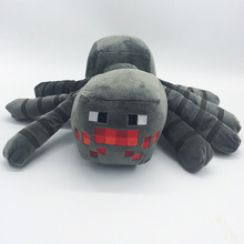 30cm Minecraft Spider Plush Toys Cute Minecraft Game Plush Soft Toy Stuffed Animals Toys Doll for Kids Overworld Cartoon Gift