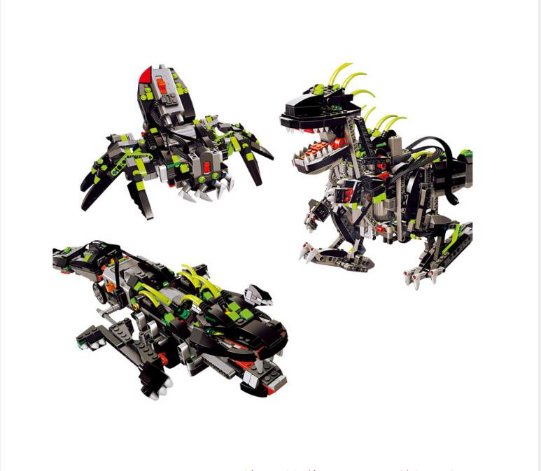 Compatible Technic model lepin 24010 792pcs 3 in 1 Dinosaur RC Sound Function building blocks 4958 Bricks toys for children compatible with lego technic creative lepin 24011 1344pcs 3 in 1 highway transport building blocks 6753 bricks toys for children