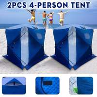4 Person Waterproof Ice Fishing tent Plus cotton thickened antifreeze and rainproof Winter Tent Shelter Tent Shanty Window Bag