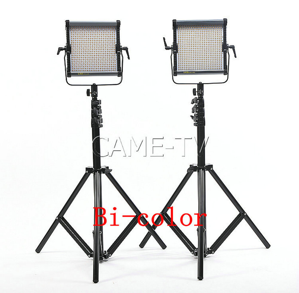 Tv Studio Verlichting Us 550 Came Tv 576b Tweekleurige Led Panelen 2 Stuk Set Video Light Camera Studio Verlichting In Came Tv 576b Tweekleurige Led Panelen 2 Stuk