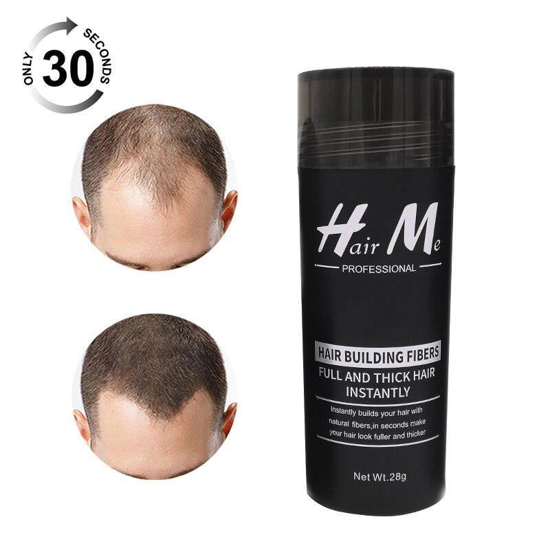 28g Dark Brown Hair Building Fibers Thinning Hair Solutions Men