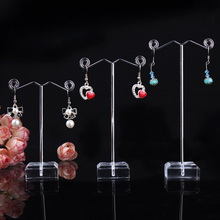 3Pcs/Set Jewelry Earring Ear Studs Organizer Show Display Holder Mini Rack Showcase Necklace Stand for Earring Hanger Tree цена и фото